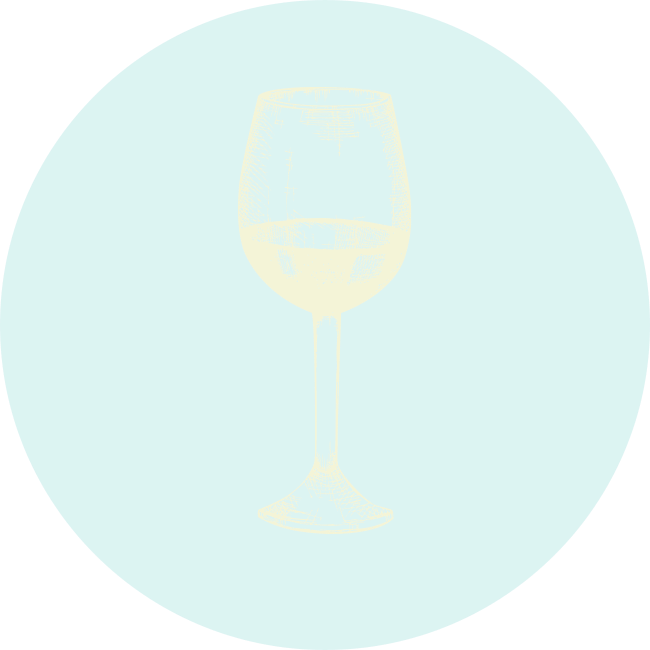Wine Glass illustration. Neptune Bars - Mobile bar hire in South East